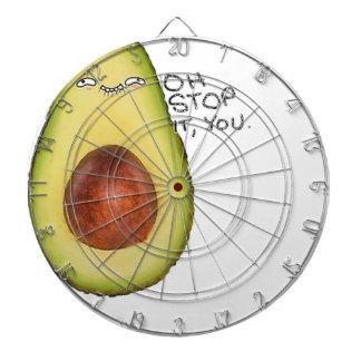 Oh Einde het u - Avocado Meme Dartbord