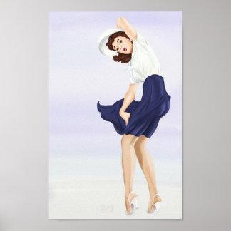 Oh, het is winderig (poster) poster