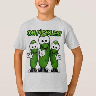 Oh het Overhemd van Groenten in het zuur T Shirt