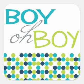 Oh van de jongen de stickers van de het baby