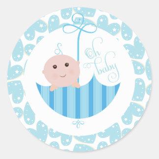 Oh van de Jongen van het baby de Sticker van