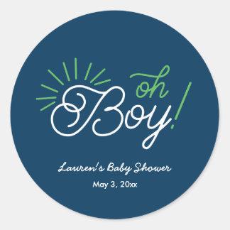 Oh van de marine Jongen! De Stickers van het baby