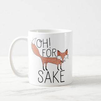 Oh! Voor het Belang van de Vos Koffie Bekers