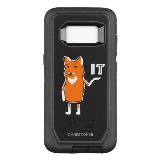 Oh Vos het Grappige Sarcastische Humoristische OtterBox Defender Samsung Galaxy S8 Hoesje