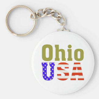 Ohio de V.S.! Sleutelhanger