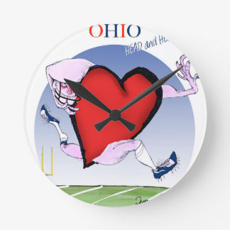Ohio hoofdhart, tony fernandes ronde klok
