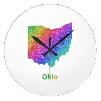 Ohio Ronde Klok Large