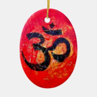 Ohm Keramisch Ovaal Ornament