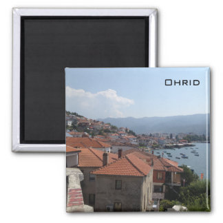 Ohrid Vierkante Magneet