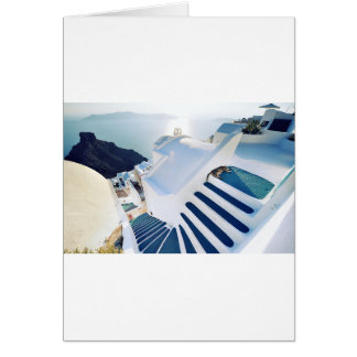 Oia van Santorini Stappen, Griekenland Kaart