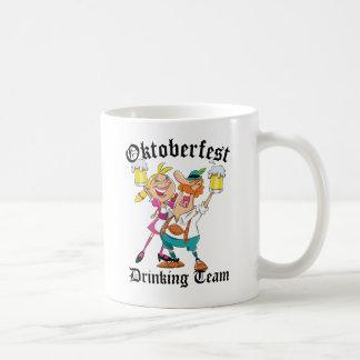 Oktoberfest die Team drink Koffiemok