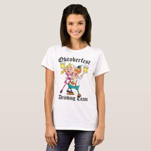 Oktoberfest die Team drink T Shirt