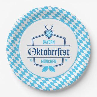 Oktoberfest het Bord van het Document van München,