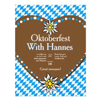 Oktoberfest nodigt Vliegers uit Flyer 21,6 X 27,9 Cm