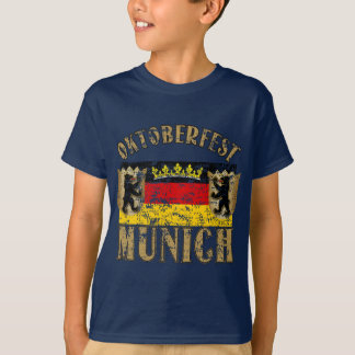 Oktoberfest Verontrust München kijkt Ontwerp T Shirt