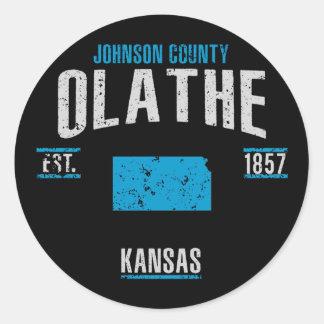 Olathe Ronde Sticker