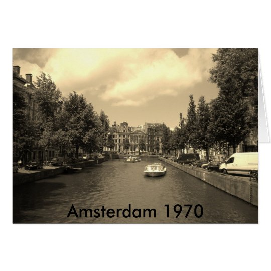 Old Amsterdam Photocard Kaart
