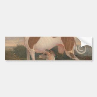 olieverfschilderijen van windhonden bumpersticker