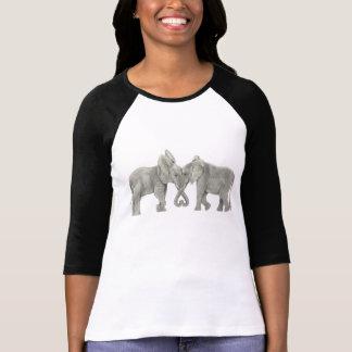 Olifanten in Liefde T Shirt