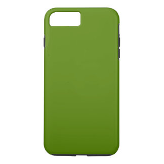 OLIJF GROENE (stevige kleur) ~ iPhone 8/7 Plus Hoesje