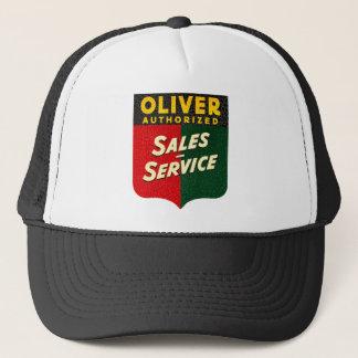 oliver de vintage verkoop van Tractoren en de Trucker Pet