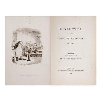 Oliver Twist Briefkaart