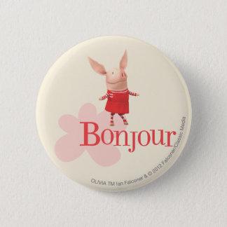 Olivia - Bonjour Ronde Button 5,7 Cm