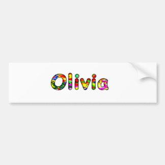Olivia Bumpersticker