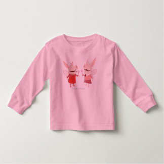 Olivia en Francine - Fee Kinder Shirts