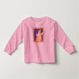 Olivia - in Geel Lijst Kinder Shirts