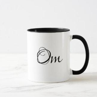 Om de Mok van de Koffie van de Vrouw van de Yoga