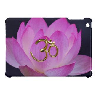 OM en de lotusbloembloem Hoesje Voor iPad Mini