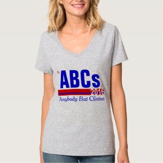 Om het even wie maar Clinton T Shirt