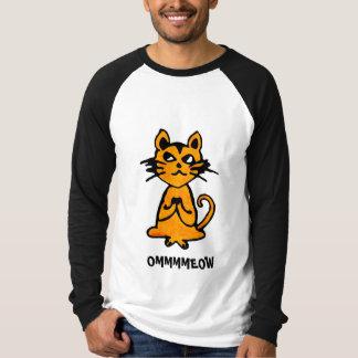 Om Kat - het Grappige Overhemd van de Yoga (Man) T Shirt