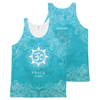 Om Shanti - Vrede (m) All-Over-Print Tank Top