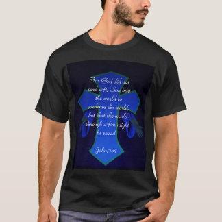 Om te veroordelen niet t shirt