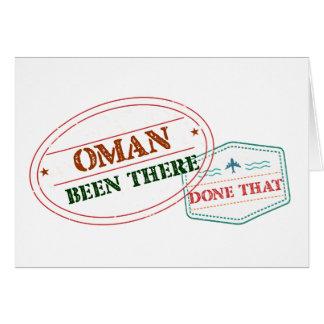 Oman daar Gedaan dat Kaart