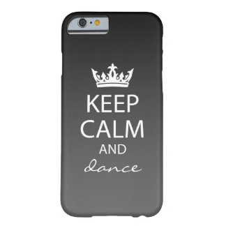 Ombre houdt Kalme iPhone 6 (zwart) Geval Barely There iPhone 6 Case