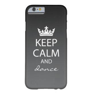 Ombre houdt Kalme iPhone 6 (zwart) Hoesje Barely There iPhone 6 Hoesje