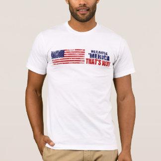 OMDAT 'MERICA DIE IS WAAROM de V.S.T-shirt T Shirt