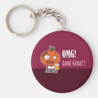 OMG! Tante Gina!? Keychain Sleutelhanger
