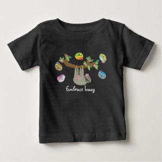 Omhels Lui - het Casual (donkere) Overhemd van het Baby T Shirts