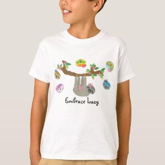 Omhels Lui - het Casual Overhemd van de Jongen T Shirt