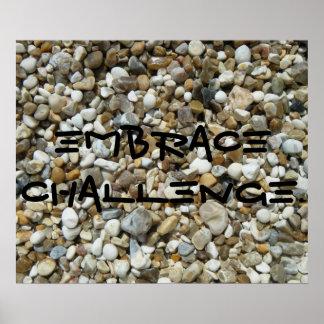 Omhels Uitdaging Poster