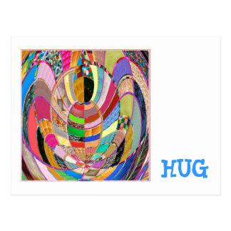 OMHELZING   - een artistieke presentatie Briefkaart