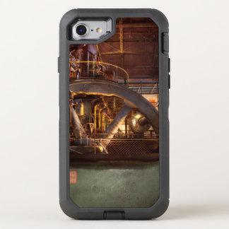 Omhoog Gepompte Steampunk - OtterBox Defender iPhone 8/7 Hoesje