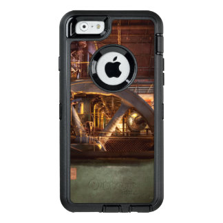 Omhoog Gepompte Steampunk - OtterBox Defender iPhone Hoesje