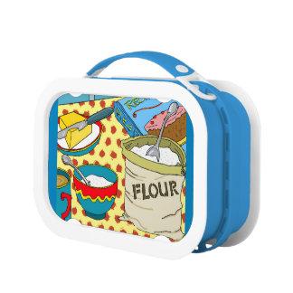 Omhoog het bakken van een de lunchdoos van storm lunchbox