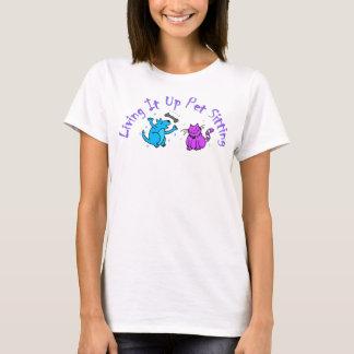 Omhoog levend het Logo T Shirt