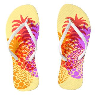 Omkeerbaar van de Ananas van Momona Hawaiiaanse Teenslippers